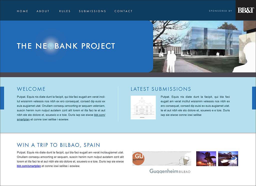 Neobank Microsite