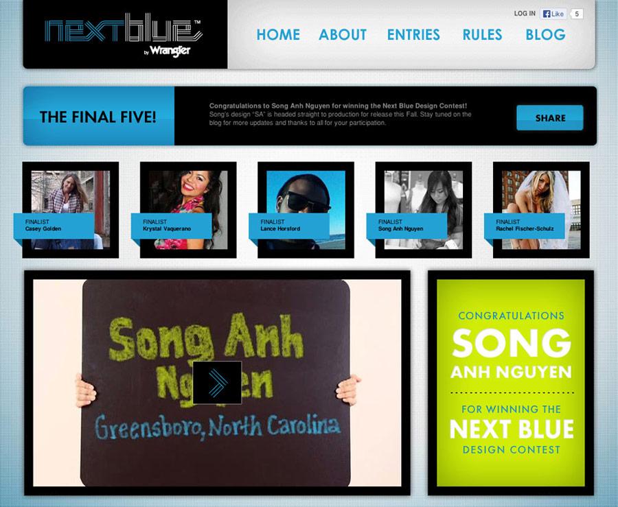 Wrangler Nextblue Website