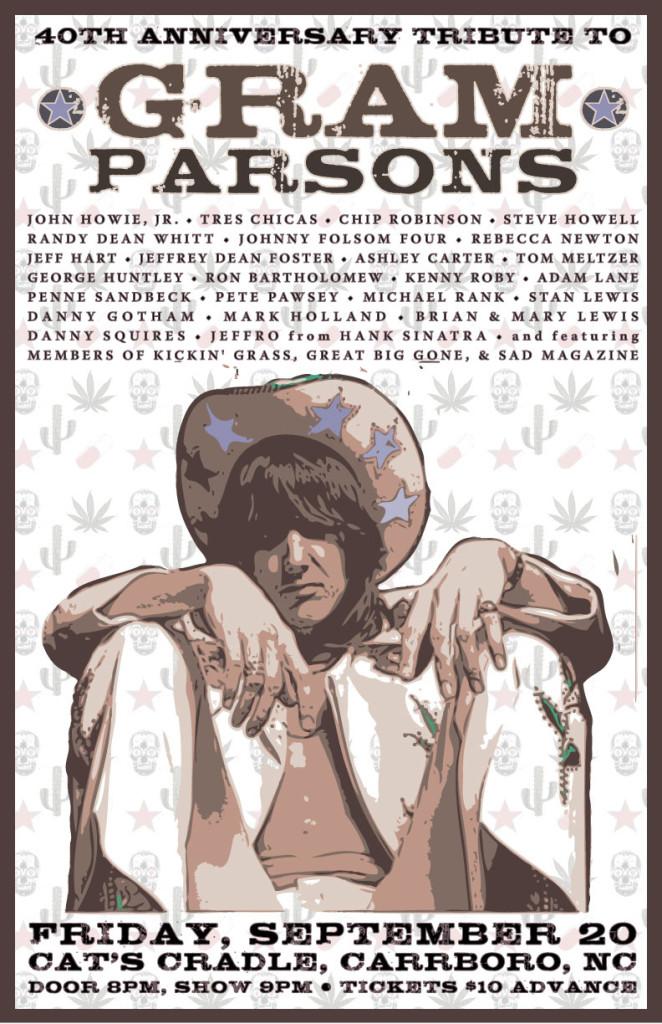 gram parsons poster